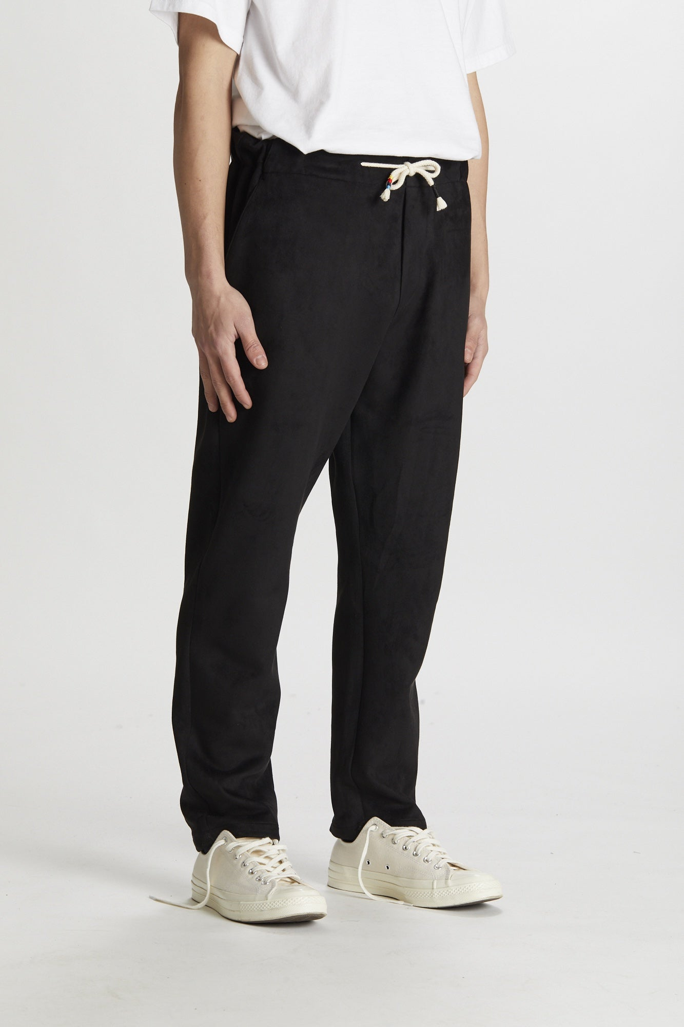 Silted Company Coffin Pant Eco Suede Black