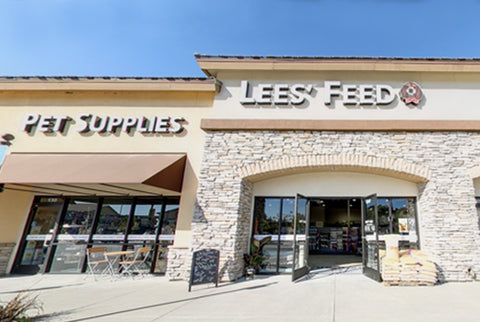 Lees' Pet Supply Location - El Dorado Hills