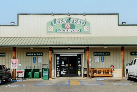 Lees' Pet Supply Location - Lockeford