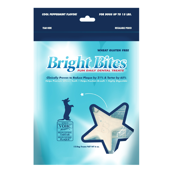Bright Bites Peppermint Dental Dog Treats