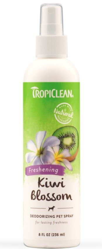 Tropiclean Kiwi Blossom Deodorizing Pet Spray