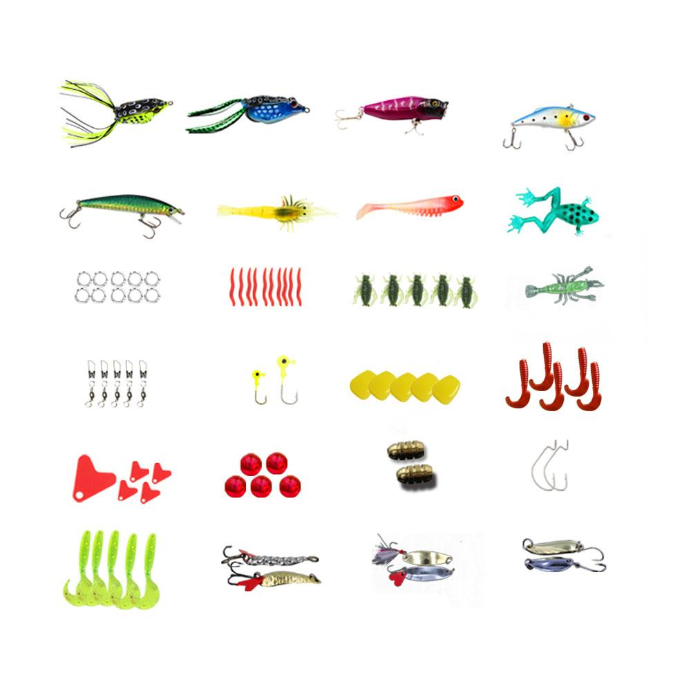 147 Pcs/set Fishing Lure Kit
