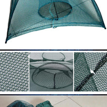 AUTOMATIC CRAWFISH TRAP CAST NET (4-20 HOLES)