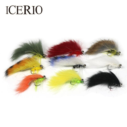 Set of 9 Matuka Flies