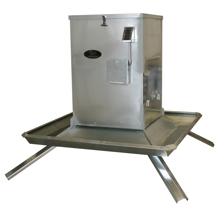 Timed Trough Protein Feeder 800 LB Capacity