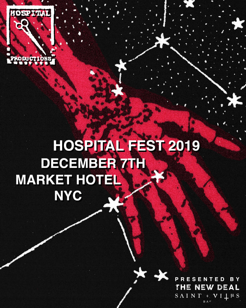 HOSPITAL FEST 2019 DECEMBER 7TH AT MARKET HOTEL