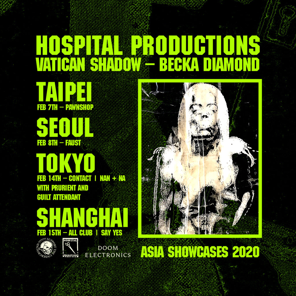 HOSPITAL PRODUCTIONS ASIA SHOWCASES 2020