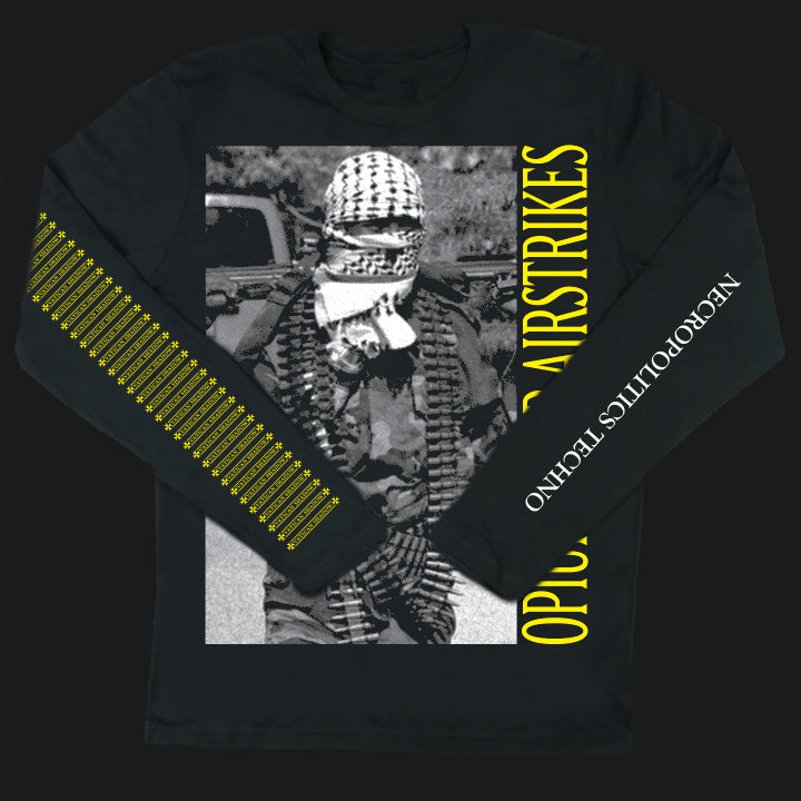 VATICAN SHADOW | OPIUM CROP AIRSTRIKES | LONG SLEEVE