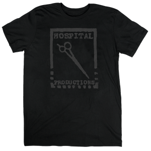 HOSPITAL PRODUCTIONS LOGO T-SHIRT | BLACK LOGO