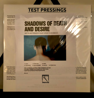 SILENT SERVANT | SHADOWS OF DEATH AND DESIRE | TEST PRESS LP