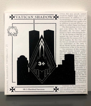 VATICAN SHADOW | SR-71 BLACKBIRD SURVIVORS | 4x CASSETTE BOX SPECIAL EDITION WITH FLEXI 7""