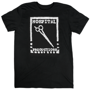 HOSPITAL PRODUCTIONS LOGO T-SHIRT | WHITE LOGO