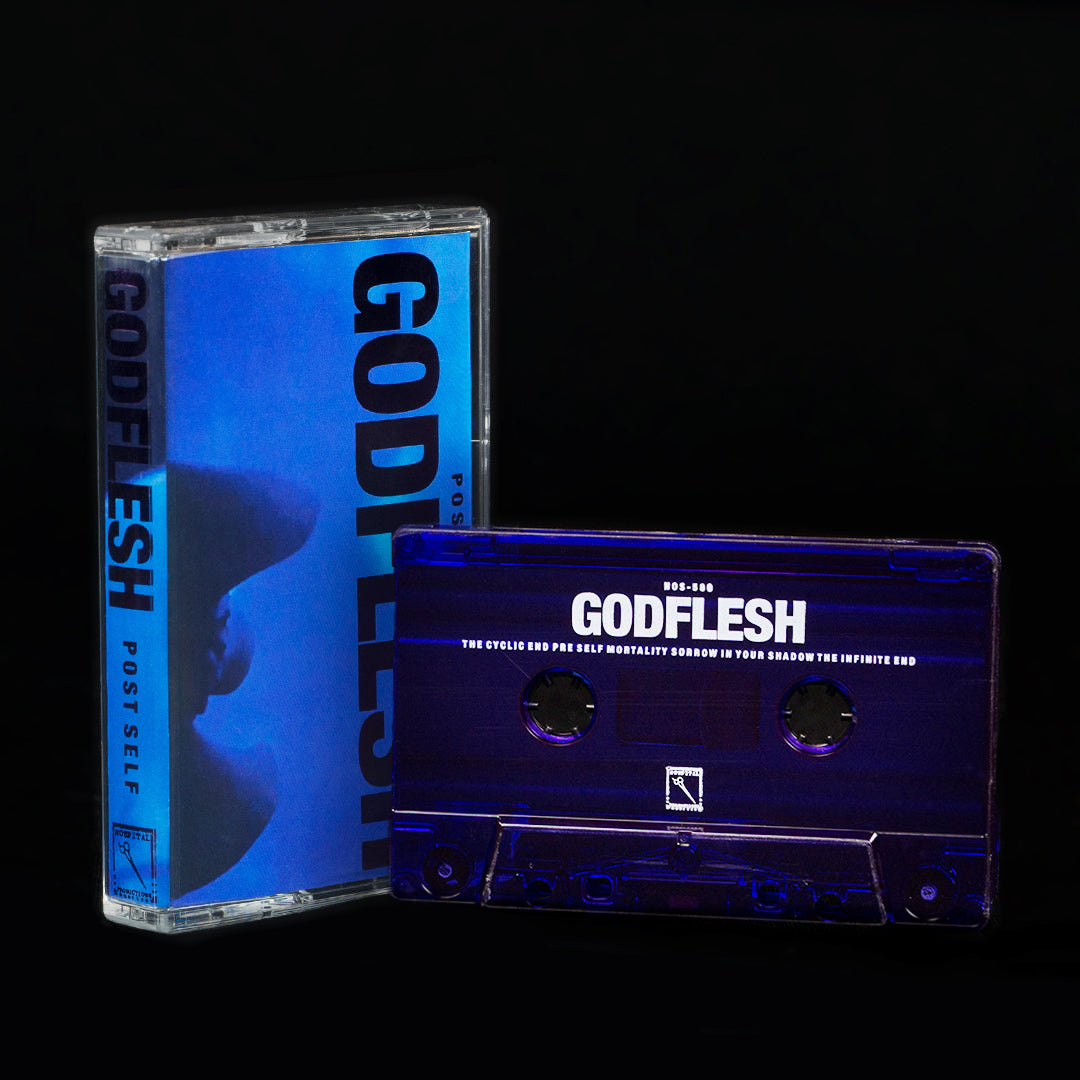 GODFLESH | POST SELF | CASSETTE 2nd pressing purple foil stamp and cassette