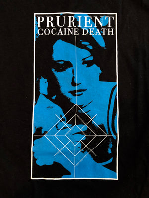 PRURIENT | COCAINE DEATH | T SHIRT