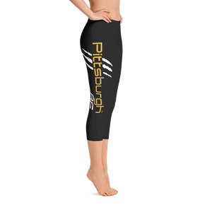 Pittsburgh AF Capri Leggings - TribalAF