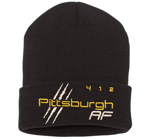 "Pittsburgh 12"" Cuffed Beanie - TribalAF"