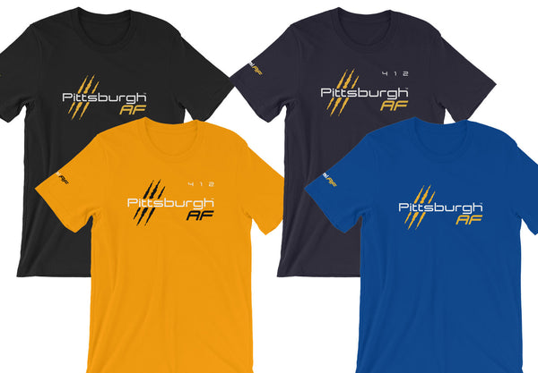 Pittsburgh AF Premium Cotton Tee - TribalAF