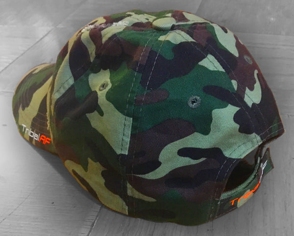 TribalAF Distressed Camo Dad Cap - TribalAF