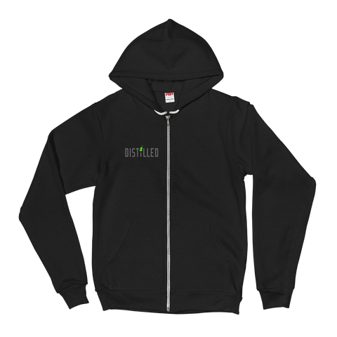 Distilled Full Zip Hoodie