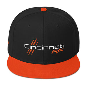 Cincinnati AF 6-Panel Snapback Hat - TribalAF