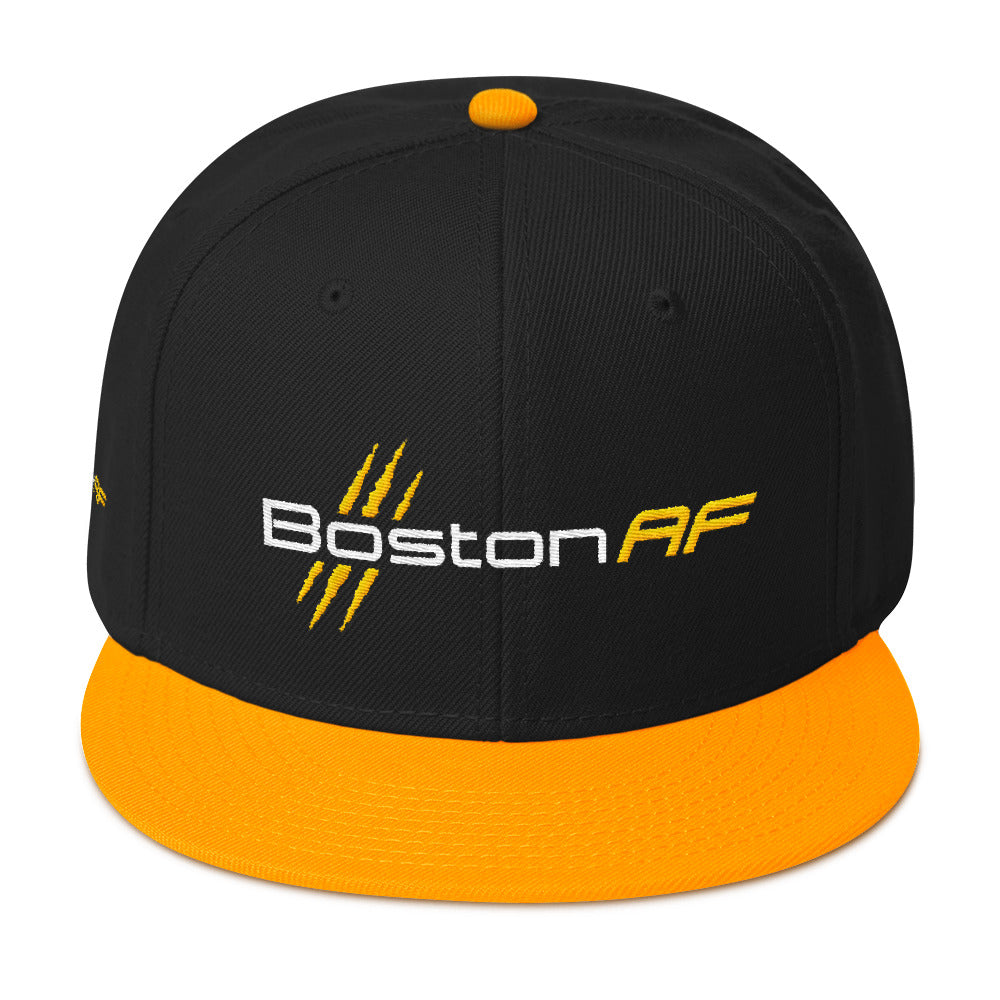 Boston AF 6-Panel Snapback Hat - TribalAF