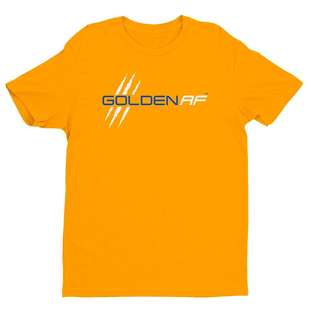 Golden AF Premium Fitted Short Sleeve Crew - TribalAF