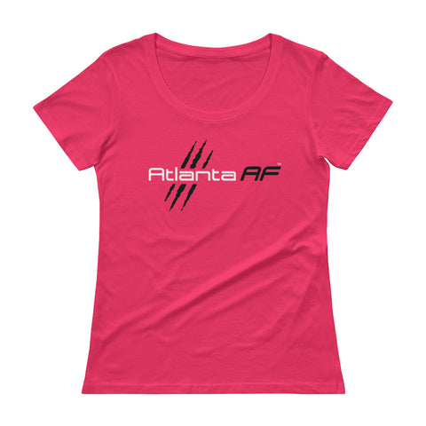 Atlanta AF Ladies' Scoopneck T-Shirt (Pink) - TribalAF