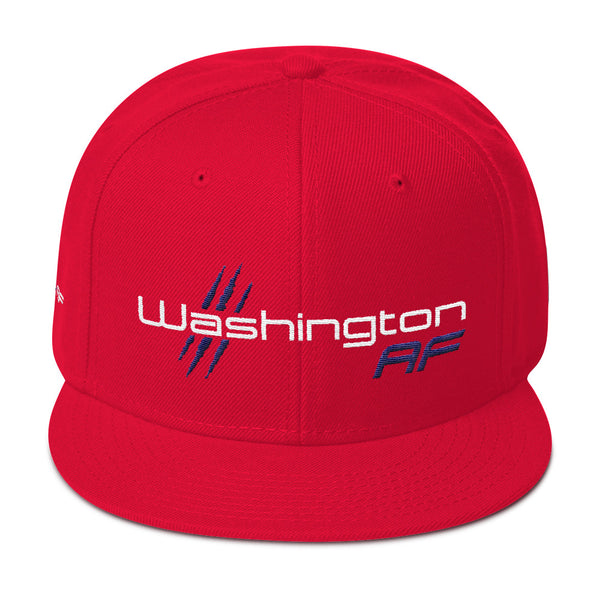 Washington AF 6-Panel Snapback Hat - TribalAF