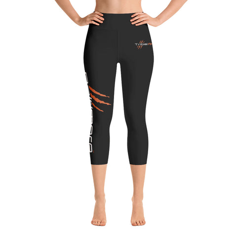 Baltimore AF Yoga Capri Leggings (Orange) - TribalAF