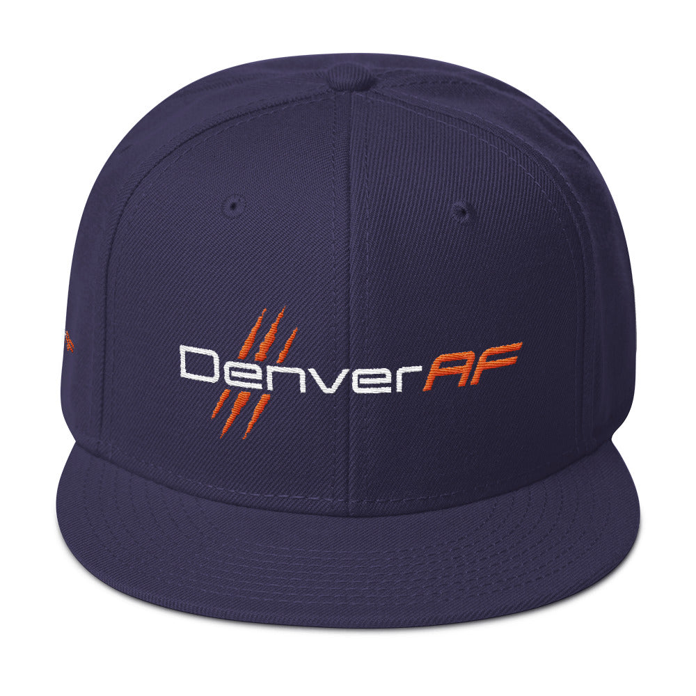 Denver AF 6-Panel Snapback Hat - TribalAF