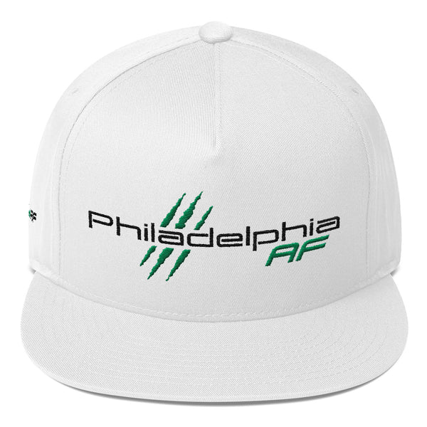 Philadelphia AF Five-Panel Flat Bill Cap (Green) - TribalAF