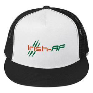 Irish-AF Five Panel Trucker Cap - TribalAF