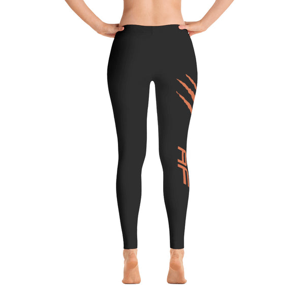Baltimore AF Leggings (Orange) - TribalAF