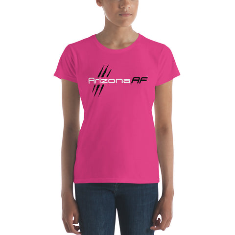 Arizona AF Ladies T-Shirt (Pink) - TribalAF