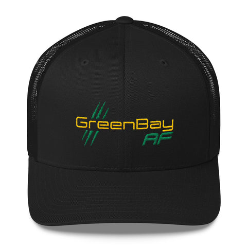 Green Bay AF Retro Trucker Hat - TribalAF