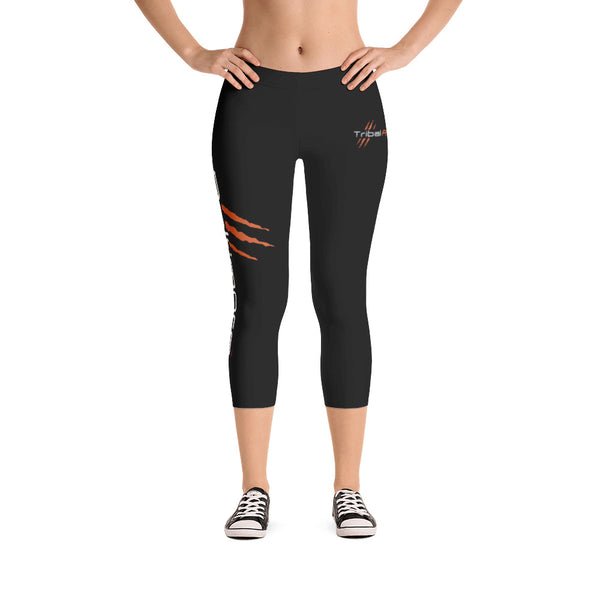 Baltimore AF Capri Leggings (Orange) - TribalAF