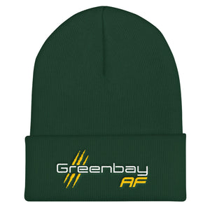 Green Bay AF Cuffed Beanie - TribalAF