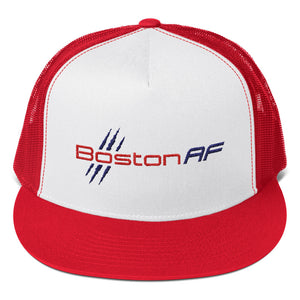 Boston AF 5-Panel Trucker Hat - TribalAF