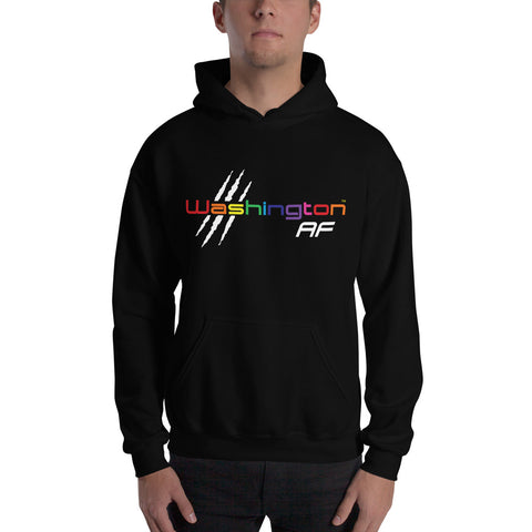 Washington AF Hoodie (Color Run) - TribalAF