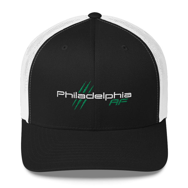 Philadelphia AF Trucker Cap (Green) - TribalAF