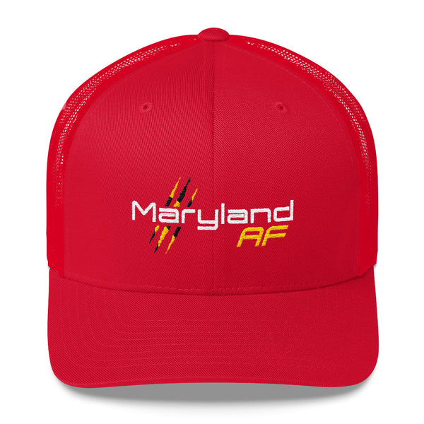 Maryland AF Retro Trucker Cap - TribalAF