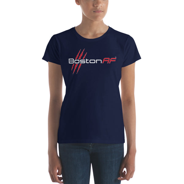 Boston AF Ladies T-Shirt - TribalAF