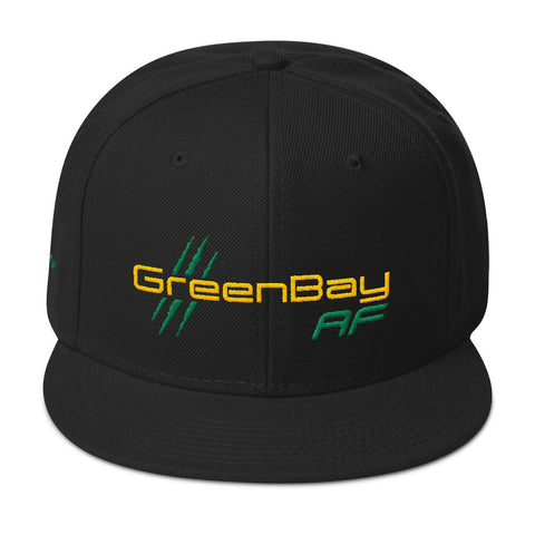 Green Bay AF Snapback Hat - TribalAF