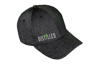 Distilled Melange Baseball Cap