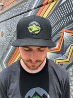 PotGuide Flat Bill Hat (Black)
