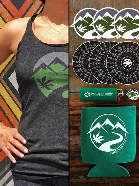 PotGuide Combo Pack: Women's Tank + Swag