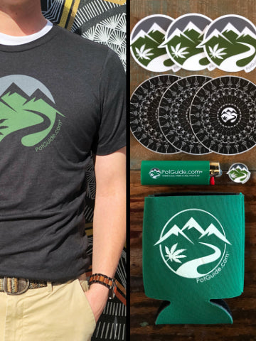 PotGuide Combo Pack: T-Shirt + Swag