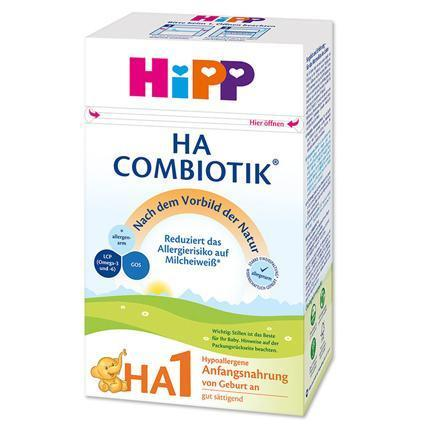 HiPP  HA (Hypoallergenic) Combiotik Stage 1- German Version