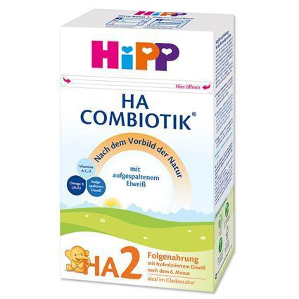 Hipp HA (Hypoallergenic) Combiotik Stage 2- German Version