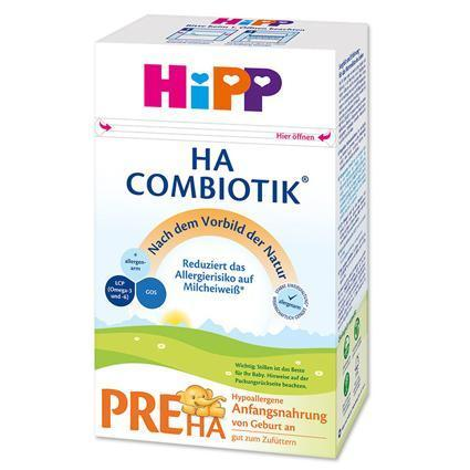 Hipp HA (Hypoallergenic) Combiotik Stage Pre- German Version